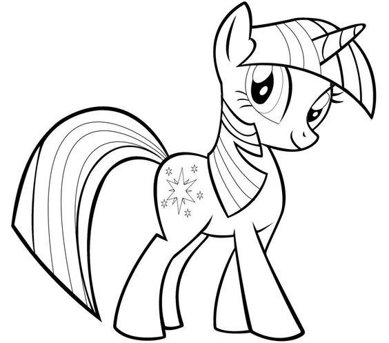 Pony Kolorowanka Szukaj W Google Kolorowanki Twilight Sparkle