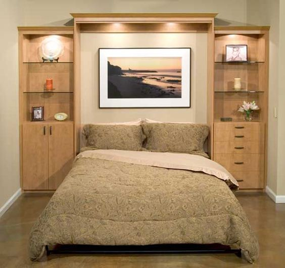 Adirondack chairs, Bed wall and Diy murphy bed on Pinterest