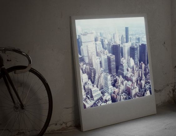 Backlit Polaroids