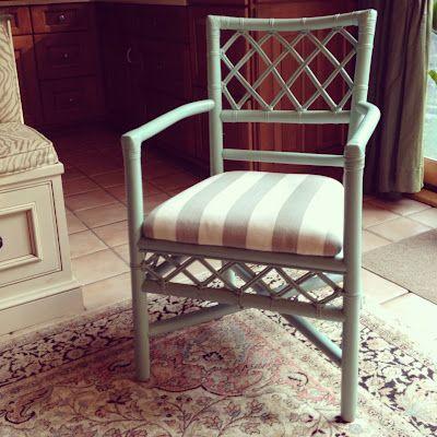 Painting Rattan. Furniture ...