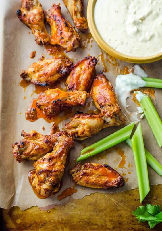 How To Make Buffalo Chicken Wings in the Oven — Cooking Lessons from The Kitchn…