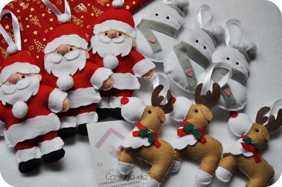 Enfeites de Natal | Encomenda da Ana Luísa. | Káthia | Flickr