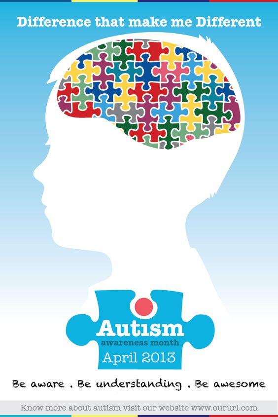 Autism Awareness Month - Poster 3 | Autism Awareness Month ...