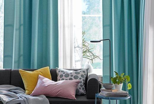 4f4fe2dc8ed38097bb524a80b11b08ac - Better Homes And Gardens Basketweave Curtain Panel Aqua