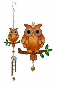 Tiffany -Iso pöllö -tuulikello