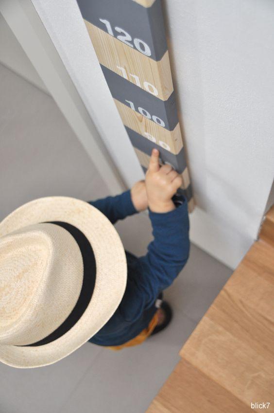 DIY-Messlatte für Kinder aus Holz | blick7