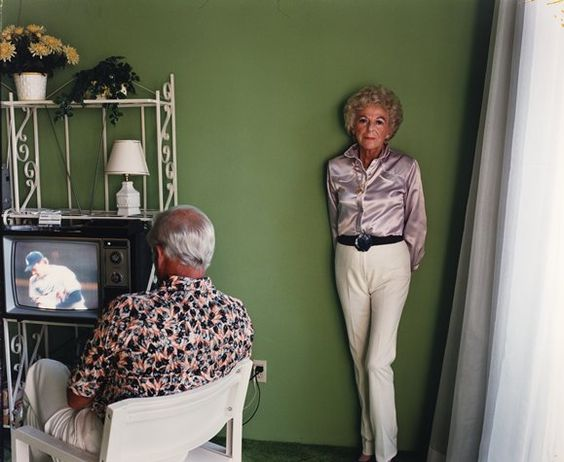 "Late CCA Faculty Larry Sultan,  ""My Mother Posing for Me, from the series Pictures from Home"" (1984)"