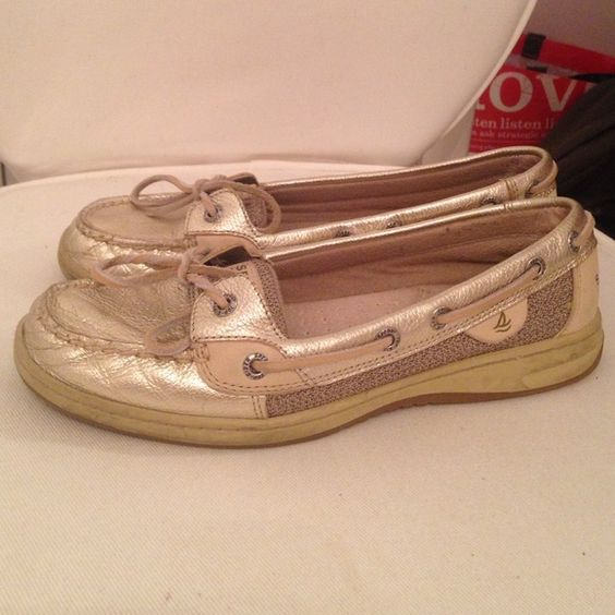 Gold Sperrys Comfortable gold sperrys Sperry Top-Sider Shoes