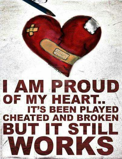 Proud of my heart!
