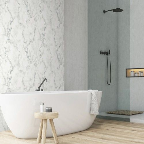 Faux Marble Peel And Stick Wallpaper By Seabrook Lelands Wallpaper Faux Marble Peel And Stick Wallpaper Pretty Bathrooms