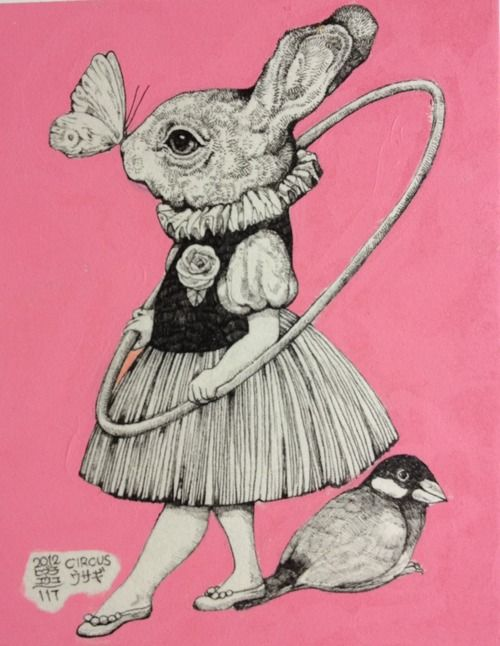 Put a bird on it. And a bunny. In a dress.  And a butterfly. Oh, and a hula hoop!: