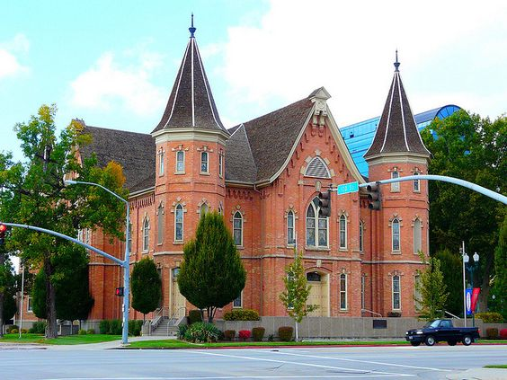 Provo Tabernacle Temple On Stilts