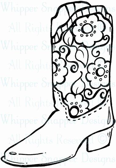 Cowboy Boots Coloring Page Elegant 81 Best Images About Boots On Pinterest Coloring Pages Cowboy Boots Drawing Colouring Pages