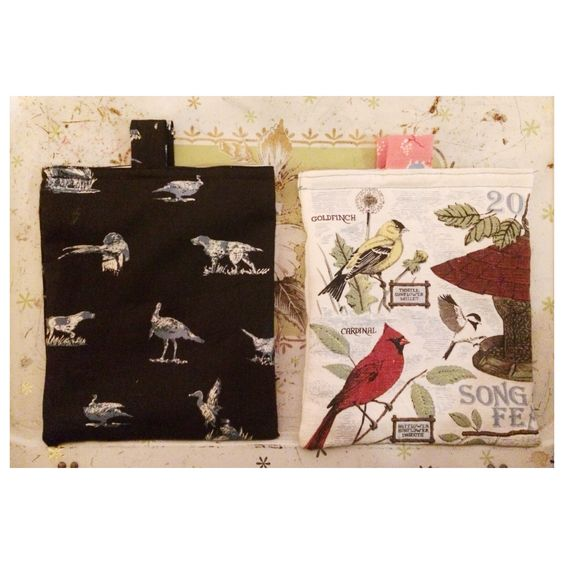 Larger reusable sandwich bags lined with PUL