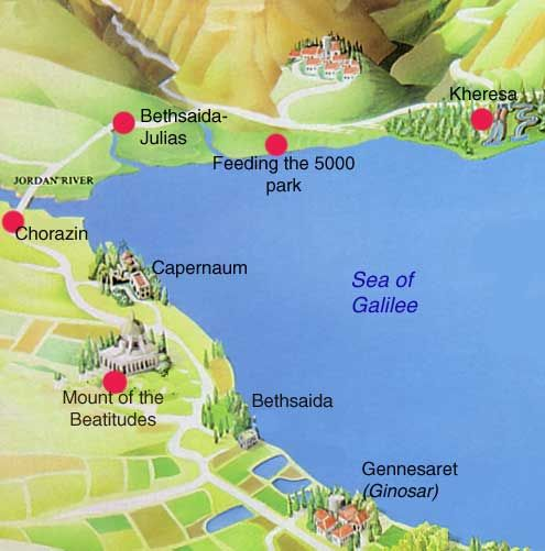 bethsaida israel mediterranean adventure joy brandt