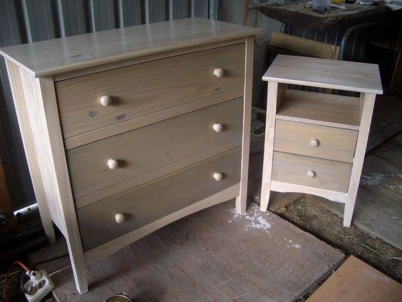 Comment ceruser un meuble Rénovation meuble Pinterest - comment ceruser un meuble