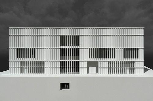 Architekturmodell Kunsthaus Zürich | Béla Berec Modellbau 1:50
