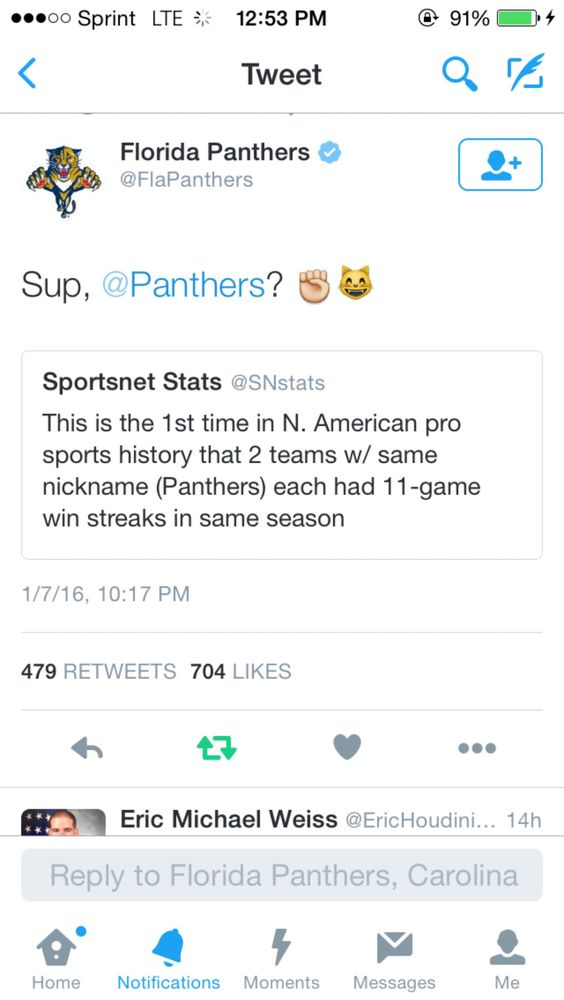 Panthers on point @panthernation704