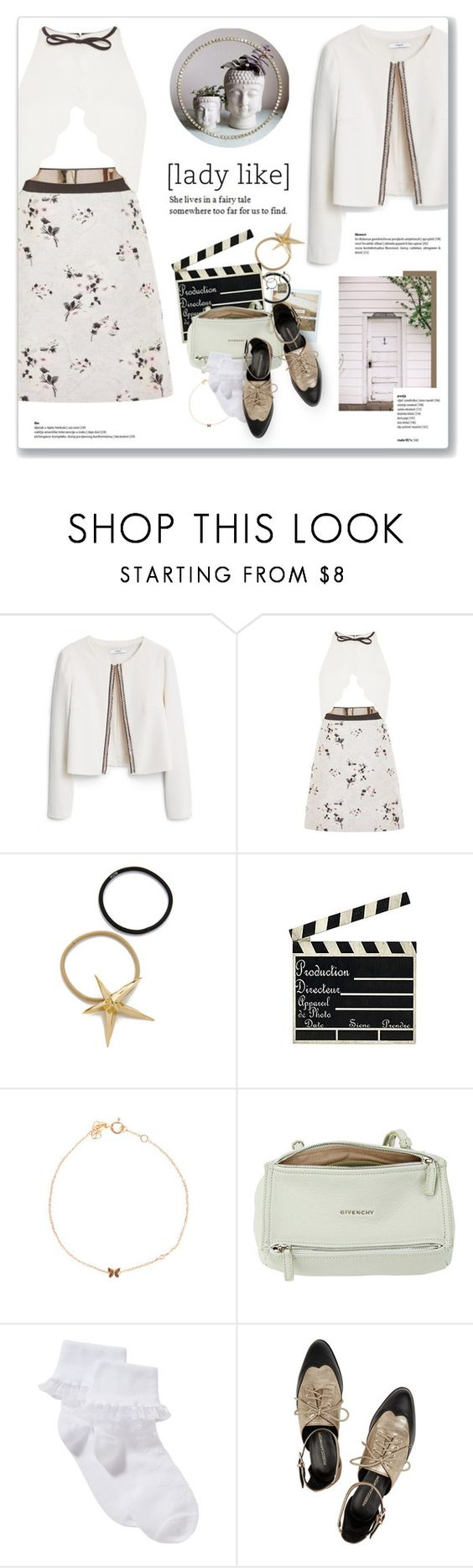 """Brick By Boring Brick, Paramore"" by blendasantos ❤ liked on Polyvore featuring MANGO, Giambattista Valli, Pluie, Sydney Evan, Givenchy, John Lewis, Rebecca Minkoff, Chanel, holiday and holidaystyle"