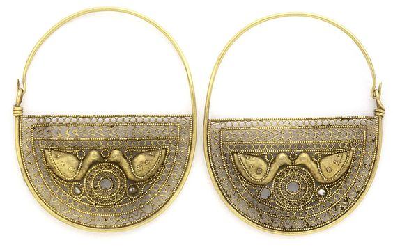 Antique earrings, Greece