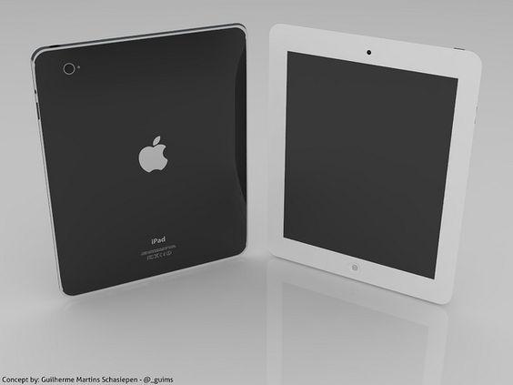 iPad 3 Concept by Guilherme Schasiepen, via Flickr
