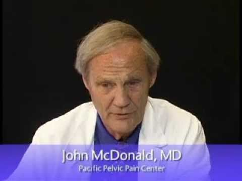 Pain specialist Dr. John McDonald, founder of the Pacific Pelvic Pain Center discusses whether an enlarged prostate cause pelvic pain.