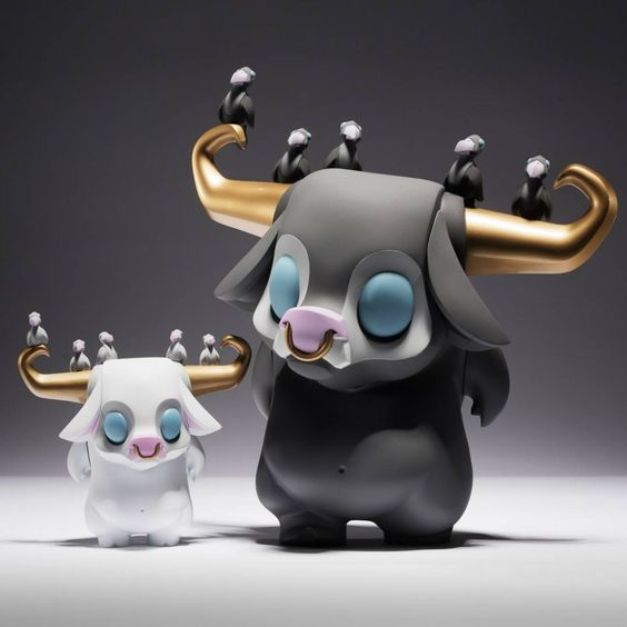 Kawi Thailand Exclusive By Coarse x JP TOYS 3 inch and 7 inch