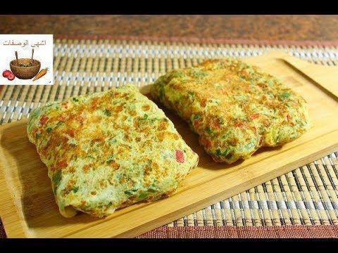فطور صباحي سهل وسريع في دقائق اومليت البيض بالتوست والخضار والجبنة روووعة Youtube Food Cooking Recipes Asian Street Food