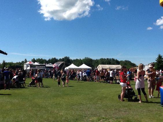 Canada Day Stony Plain 2014