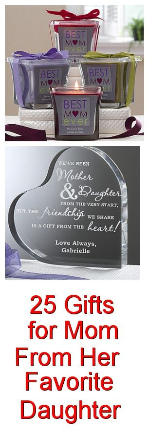 Gifts for Mom from Her Daughter - Top 60 Gifts | Sweet ...