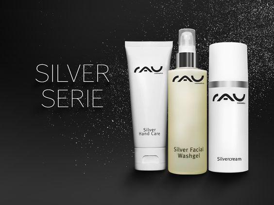 Die Produkte aus der RAU Cosmetics Silver Serie wirken entzündungshemmend, pflegend, Juckreiz stillend und nicht zuletzt hautbildverfeinernd und tragen somit deutlich dazu bei, dass Sie sich wieder in Ihrer Haut wohl fühlen http://www.rau-cosmetics.de/rau-silver-serie/ #hautpflege #skincare #cosmetics #kosmetik