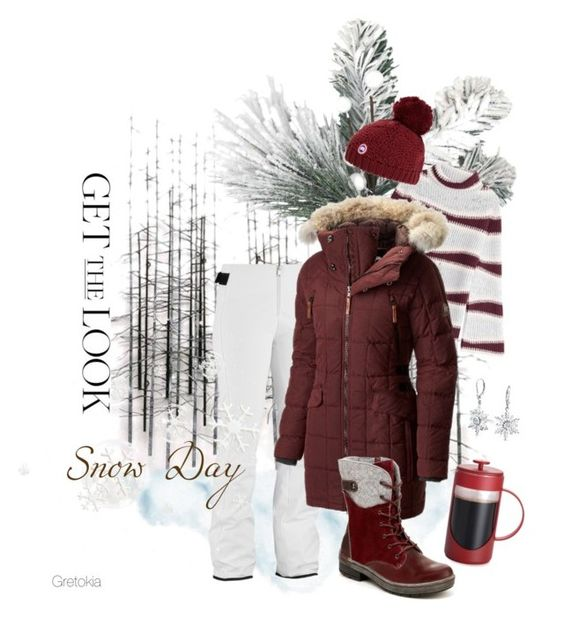Snow Day By Gretokia Liked On Polyvore Featuring Home Decorators Collection Eider Kenzo Sorel Jambu Canada