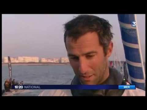 Armel Le Cleach remporte son premier Vendée Globe