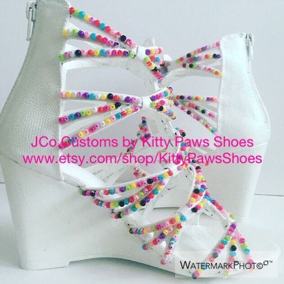 A personal favorite from my Etsy shop https://www.etsy.com/listing/399626457/the-carol-candy-coated-wedges-from