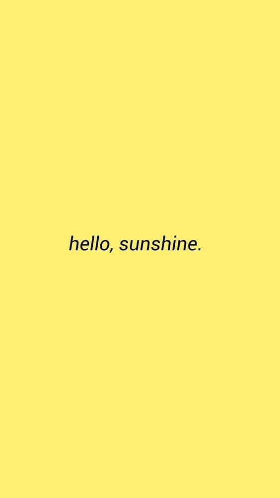 Iphone X Wallpaper Yellow