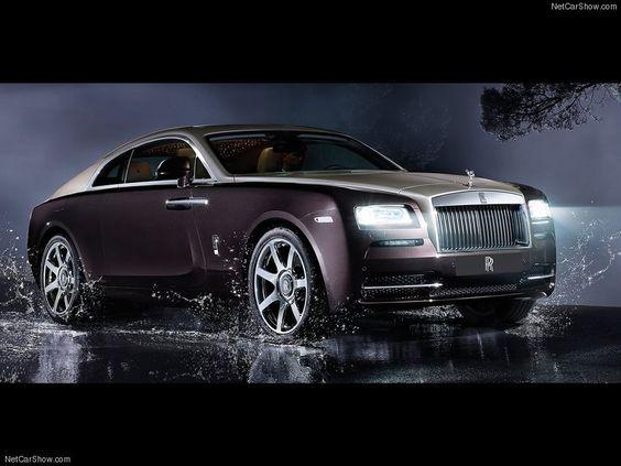 #RollsRoyce Wraith - Un buen motivo para ser millonario.