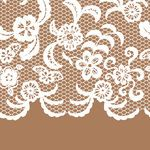Lingerie Clip Art for Invitations | Seamless, dentelle, frontière, invitation, carte Clipart vecteur