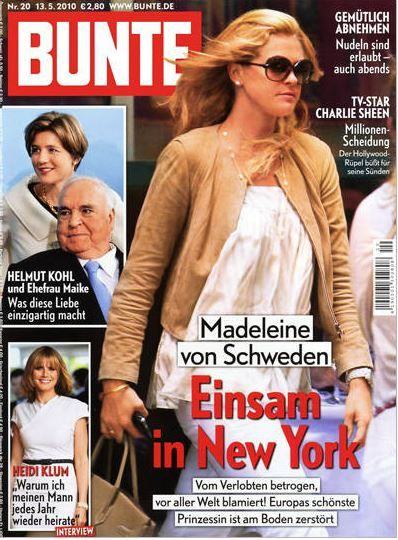 2010: Madeleine von Schweden