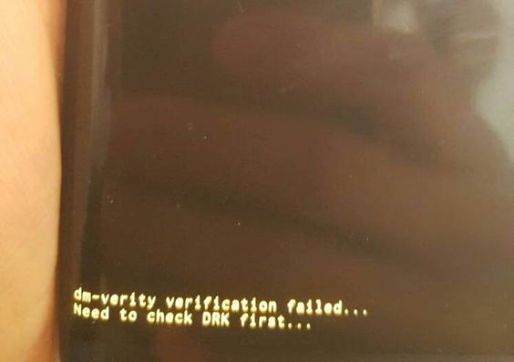 how to fix verification failed