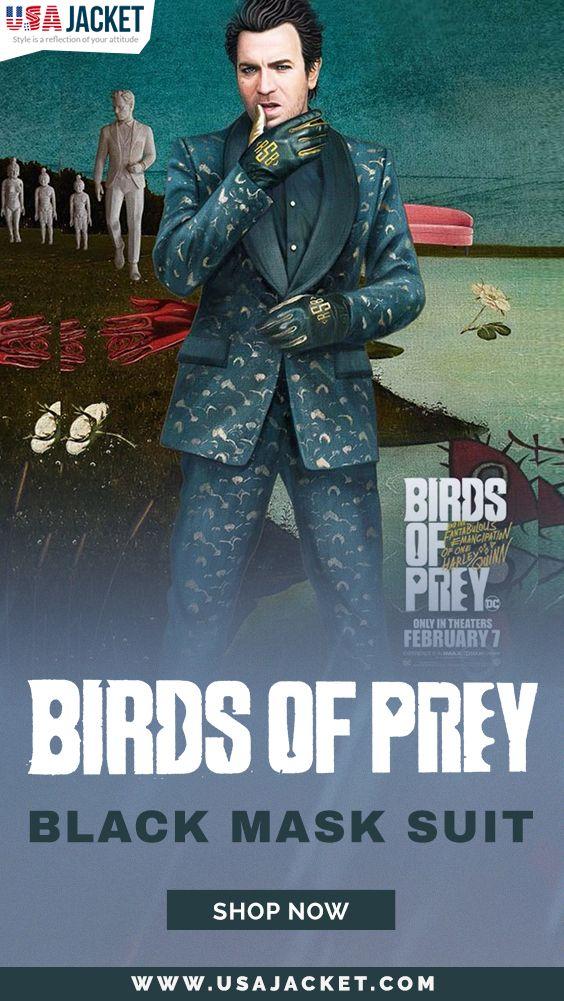 Birds Of Prey Black Mask Suit In 2020 Black Mask Black Birds Of Prey