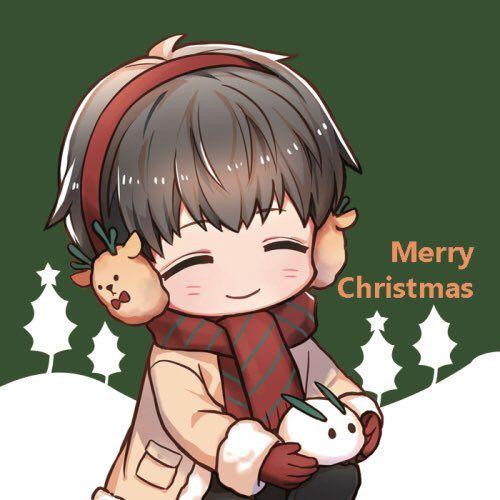 Twitter Cute Anime Chibi Anime Christmas Cute Anime Guys