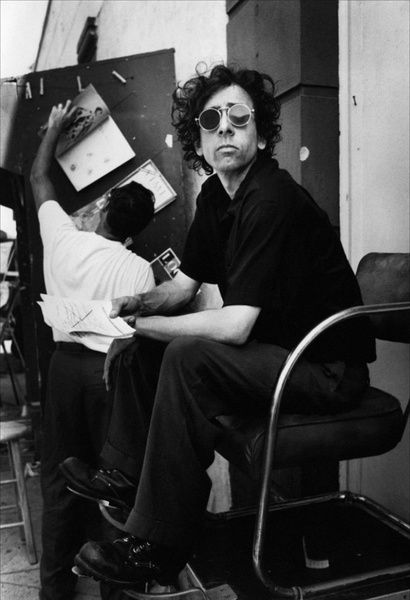 Young Tim Burton