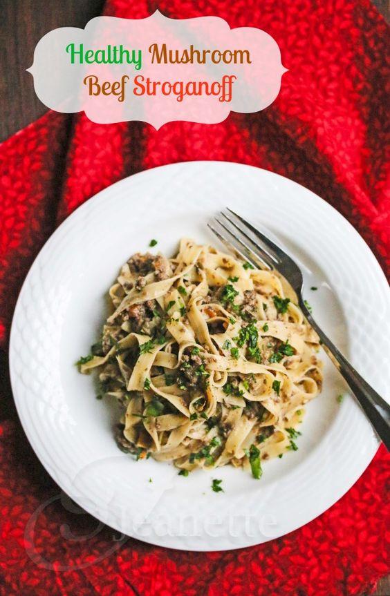 mushroom stroganoff soup improved recipes dishmaps mushroom stroganoff ...