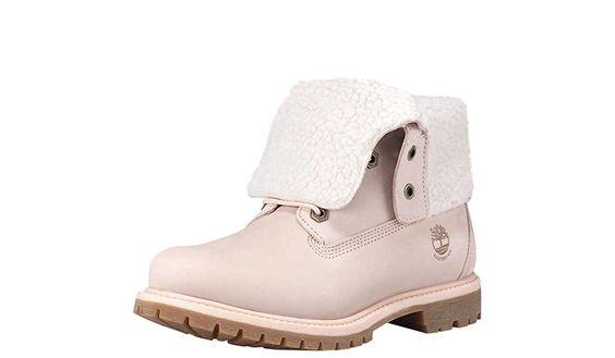 Amazon.com | Timberland Women's Authentics Fleece Boot | Mid-Calf