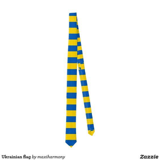 Ukrainian flag tie