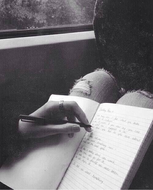 writing :3