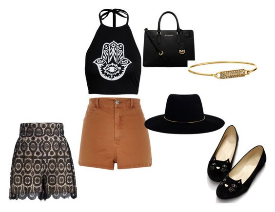 """""""festival ready"""" by goofprincess on Polyvore featuring Zimmermann, River Island, Boohoo, MICHAEL Michael Kors and Rebecca Minkoff"""