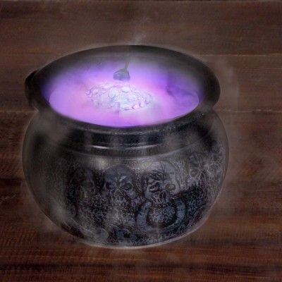 Smoking cauldron for your Halloween bash? Check.