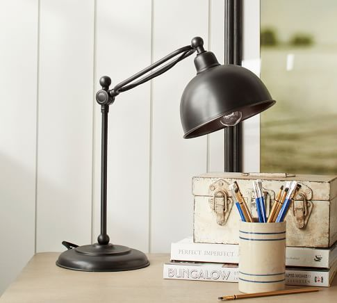 Table Lamps Desk Lamps Bedside Lamps Pottery Barn Table