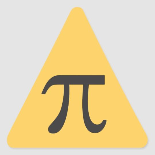 Pi Symbol Stickers Zazzle Com In 2021 Pi Symbol Print Stickers Symbols